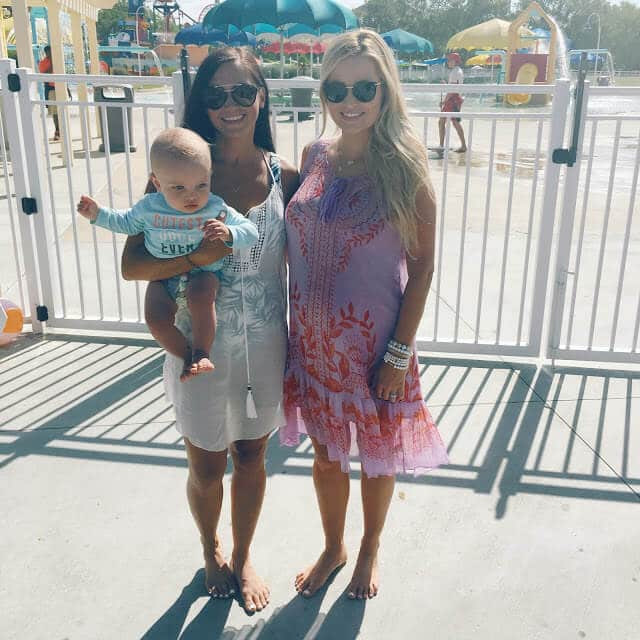 Emily Maynard, #waterthemdaily, Huggies, Carowinds Myrtle Turtle Splashpad