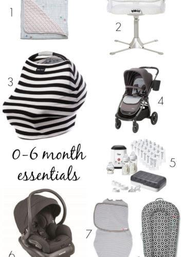 Baby || 0-6 Month Essentials