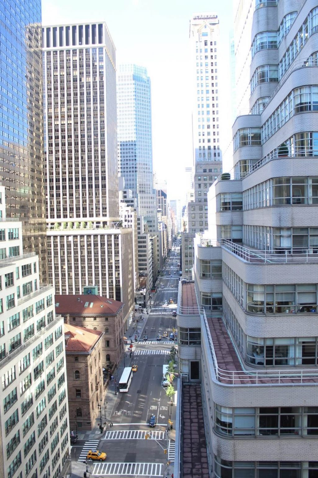 Madison Ave view, Omni Berkshire Place NYC