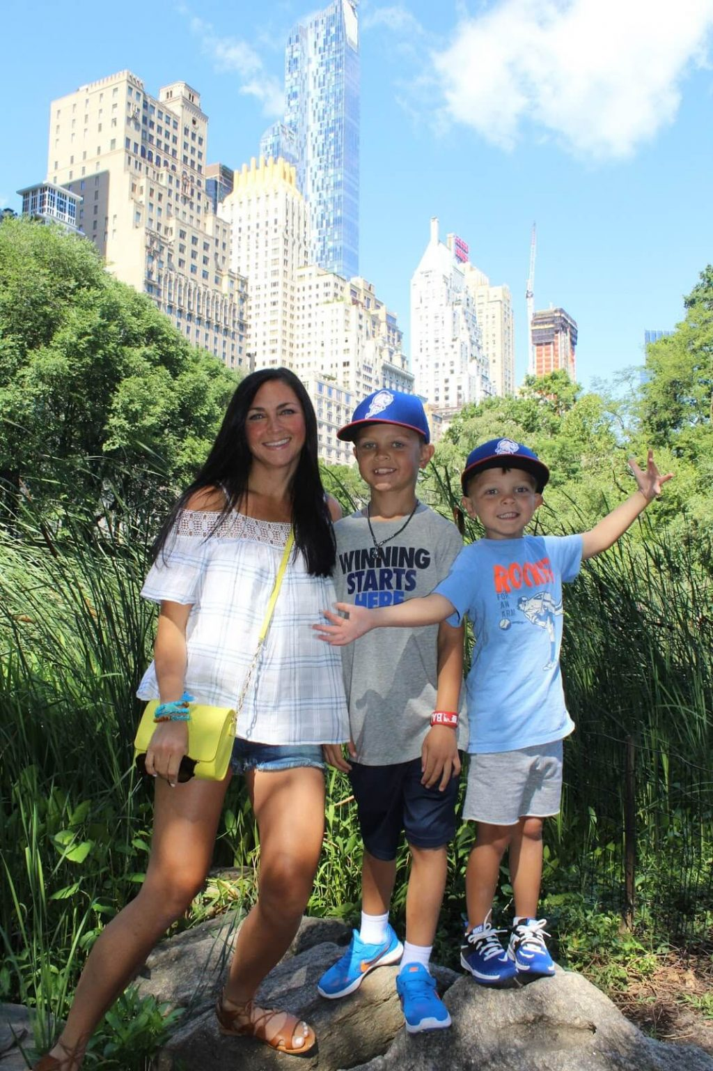 Central Park with kids