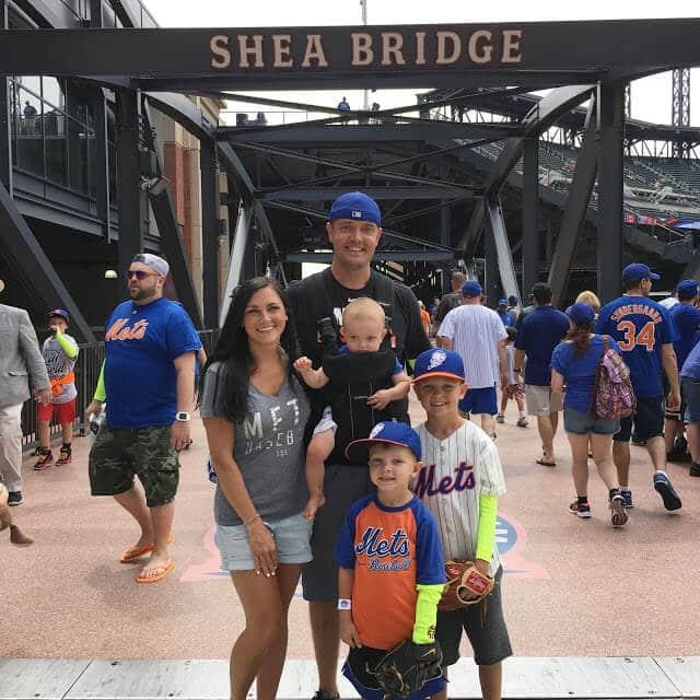 Shea Bridge, Mets Citi Field with kids