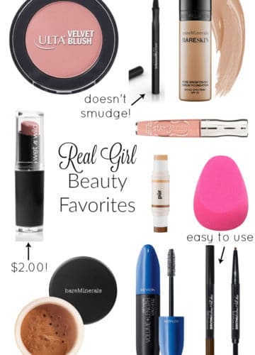 Beauty || Real Girl Beauty Favorites