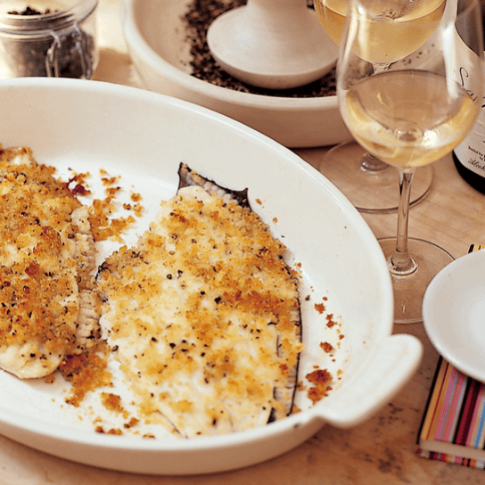 Easy parmesan flounder recipe