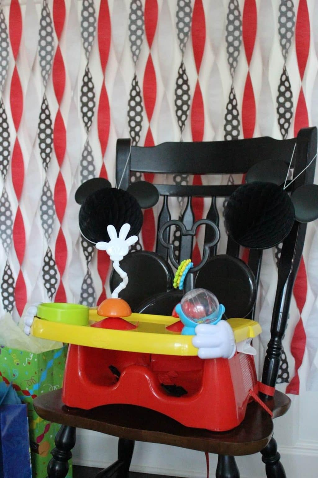Mickey Mouse High Chair, The First years
