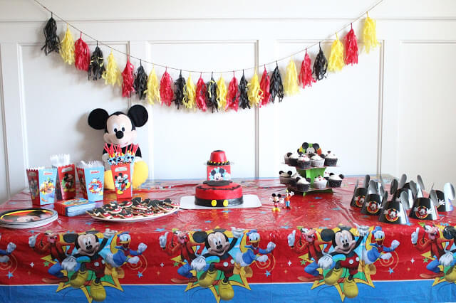 Mickey Mouse 1st Birthday Party! - Stilettos & Diapers