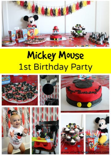 Mickey Mouse 1st Birthday Party!