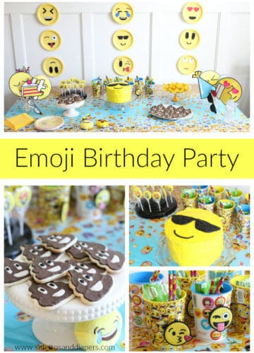 Callan's 5 Year Old Emoji Party!