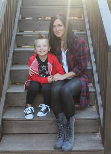 Littles Style: Mother and Son Matching + a Giveaway!
