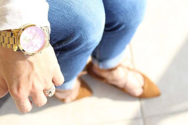 Michael Kors Pink face watch
