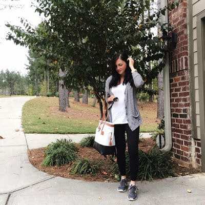 Athleisure wear for busy moms, Quinny Diaper Bag
