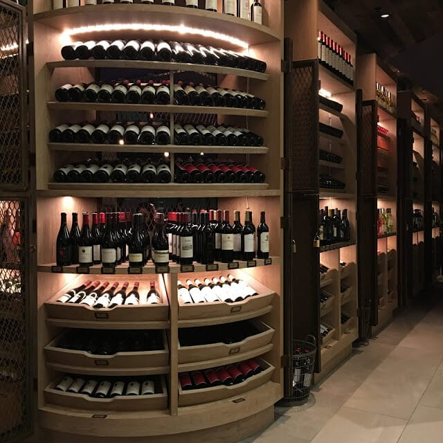 Charlotte Marriott City Center, Wine Bar, Stoke