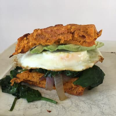 Whole30 breakfast sandwich