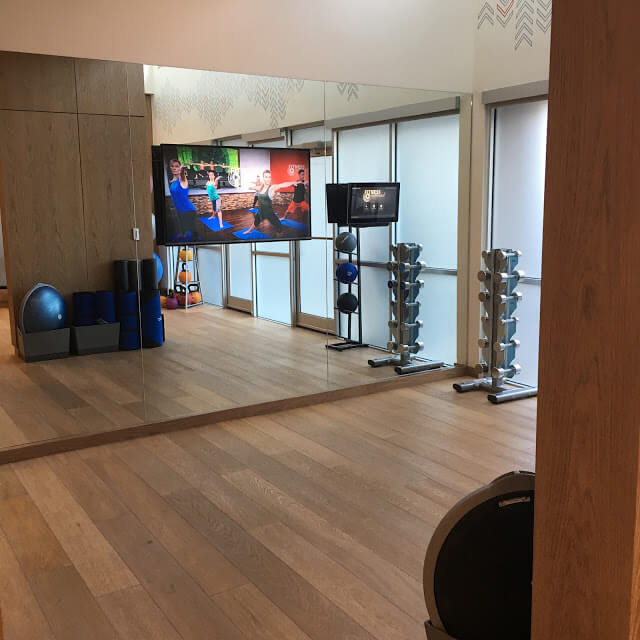 Charlotte Marriott City Center Gym, Flex Program