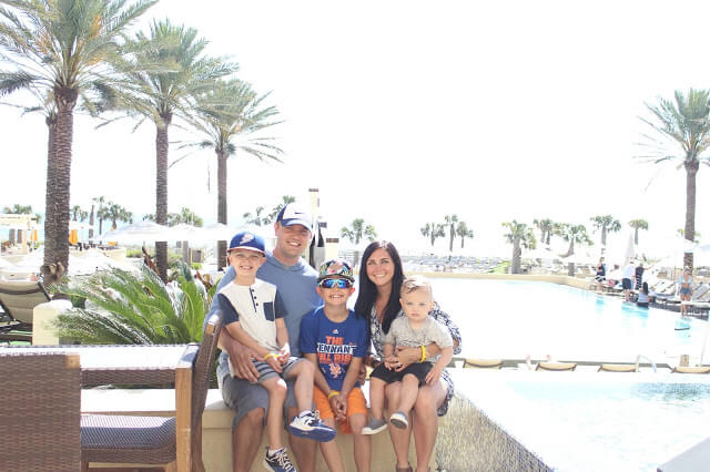 Omni Amelia Island Plantation with a family, Stilettos and Diapers