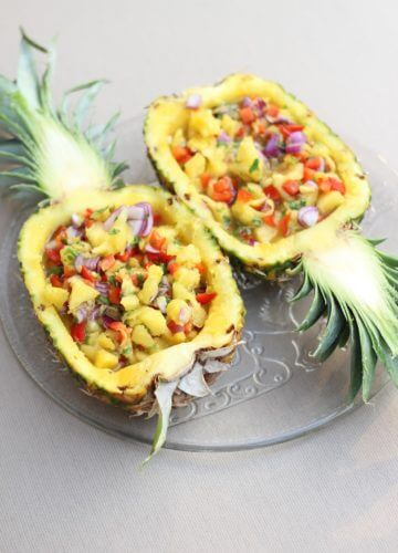 Simple Summer Appetizer: Pineapple Salsa
