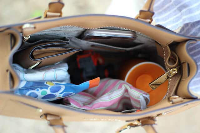 How to transition from diaper bag to mom purse, Stilettos and Diapers
