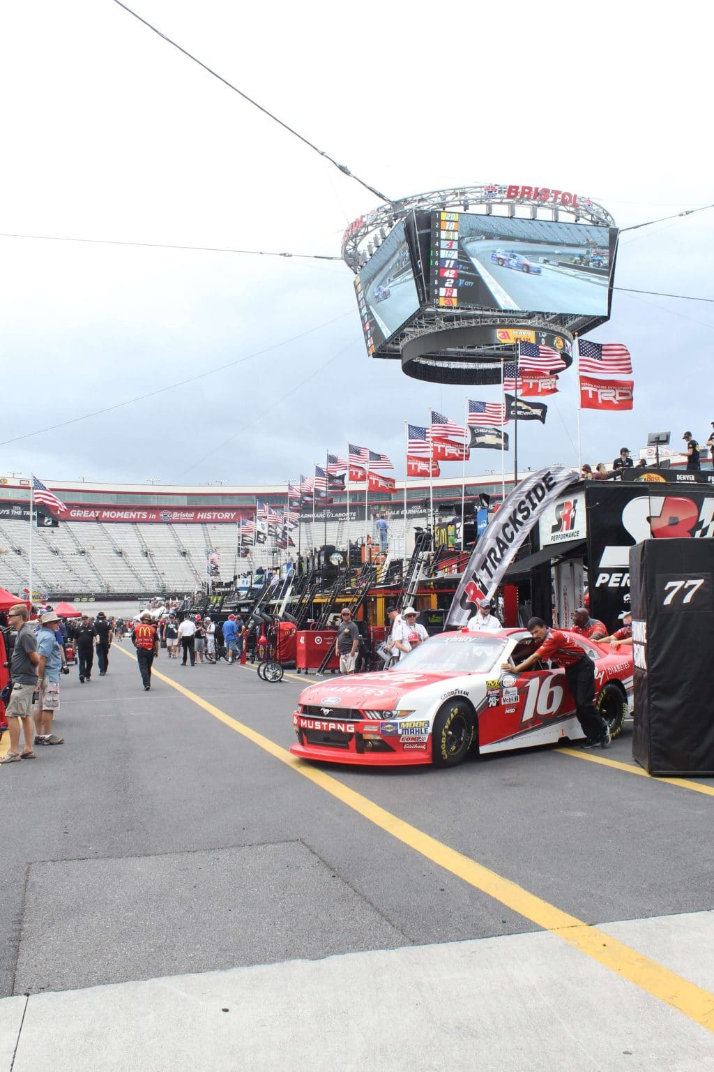 Unexpected Adventure: My First NASCAR Race - Stilettos & Diapers