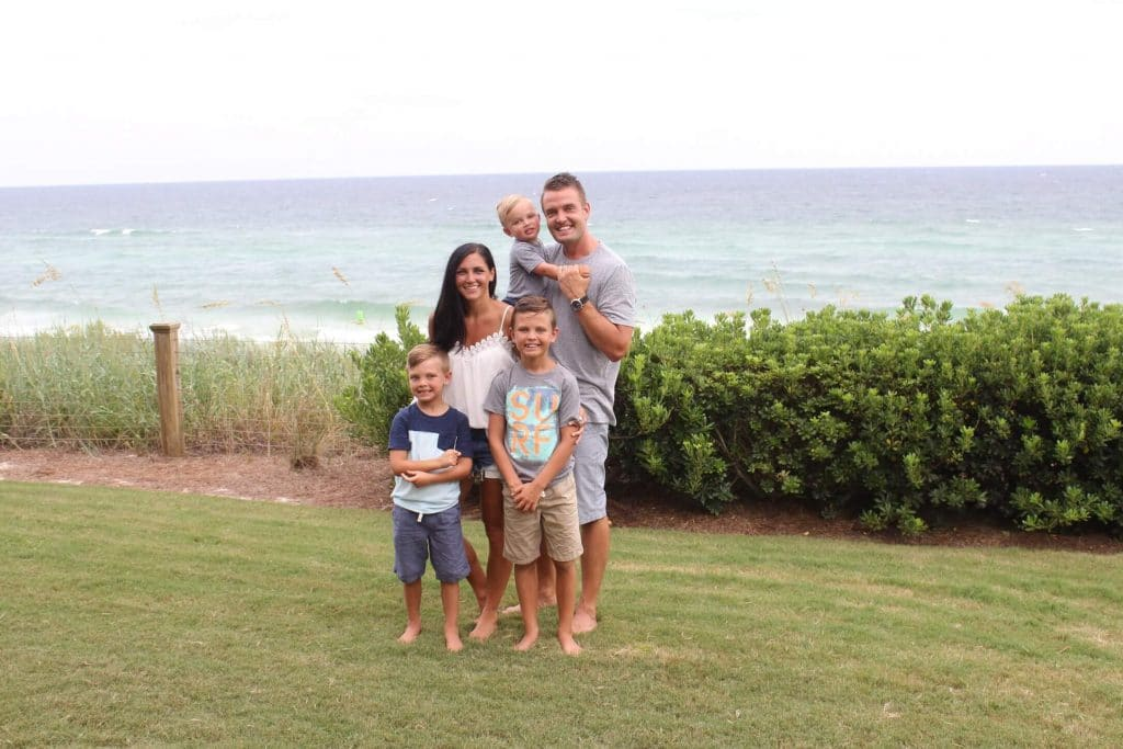 30A Family vacation, travel guide, stilettos and diapers