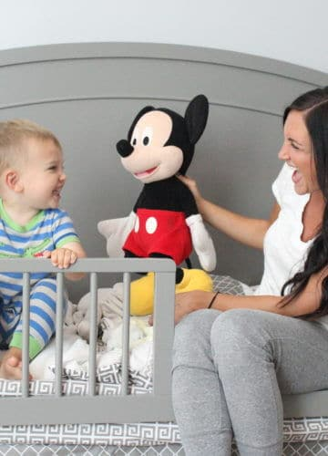 Lincoln's Big Boy Room Reveal + DaVinci Baby GIVEAWAY!