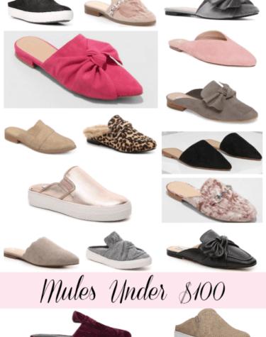 Mules Under $100
