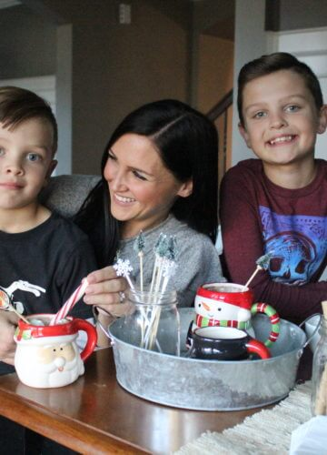 Savoring Motherhood with a Cocoa Bar