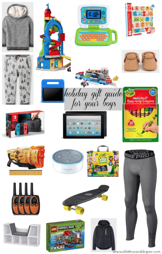 Gift Guide: Boys Of All Ages