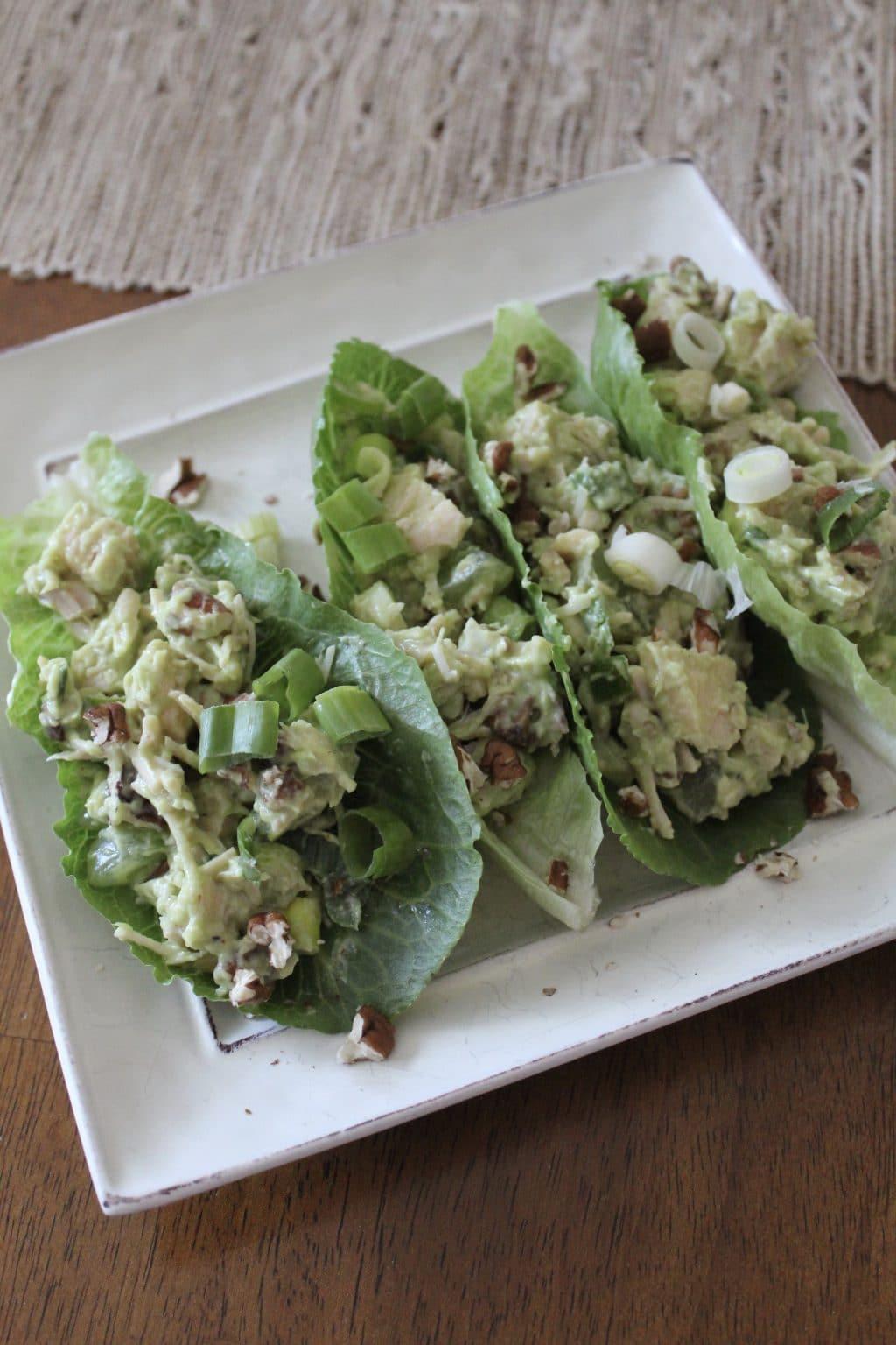 Simple Whole30 Lunch: Chicken Salad - Stilettos \u0026 Diapers