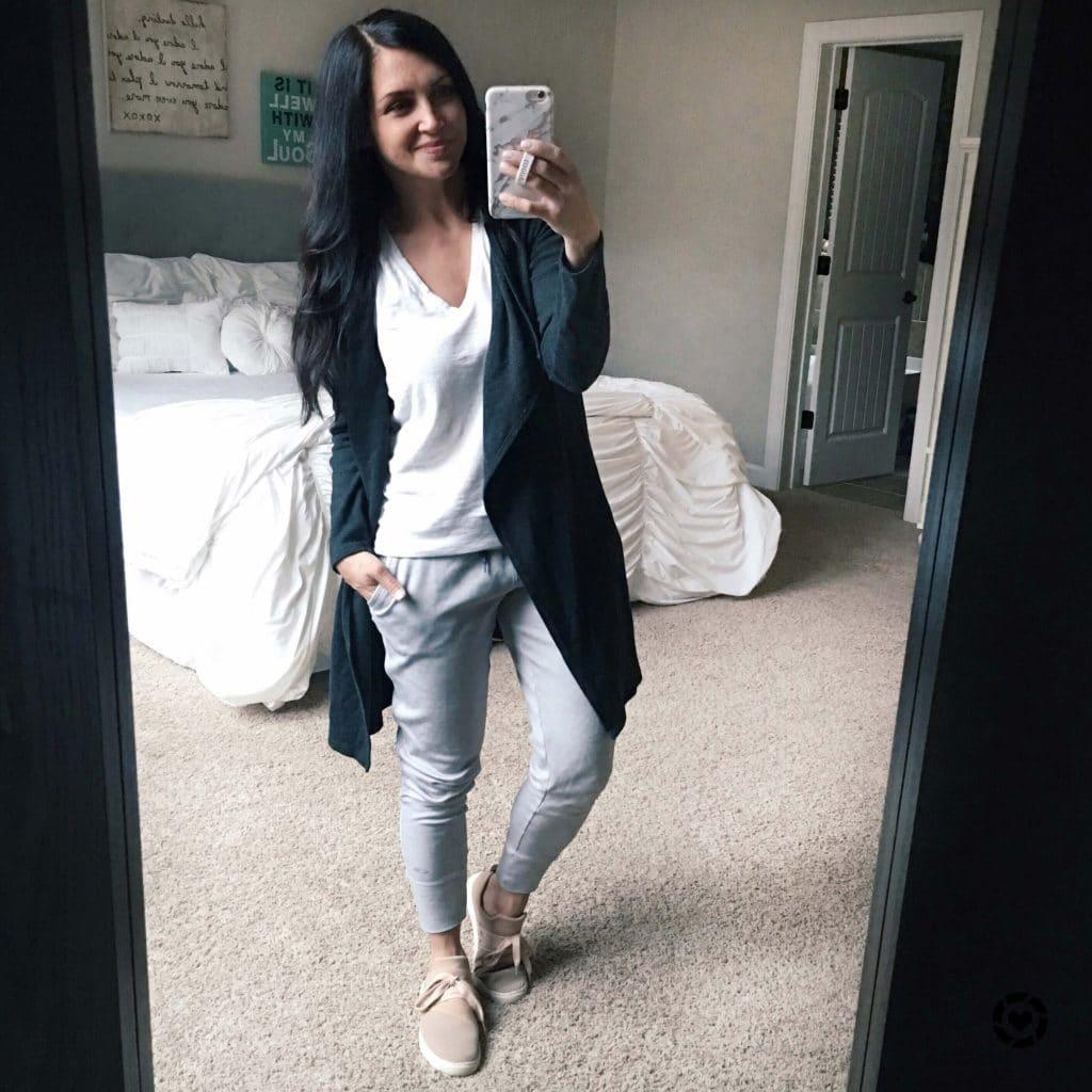 Loungewear, athleisure, pink sneakers