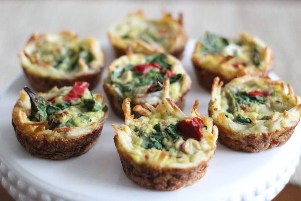 Whole30 Breakfast, Easy breakfast dish, Hash brown quiche