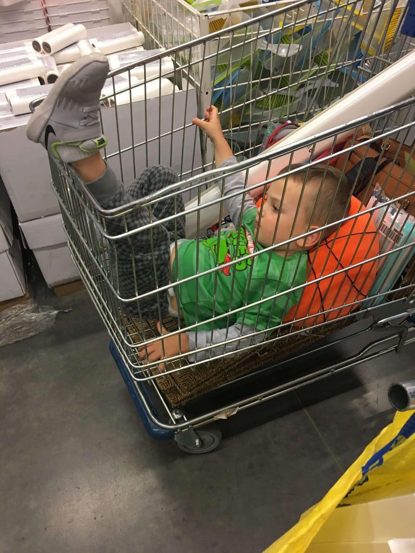Ikea with kids