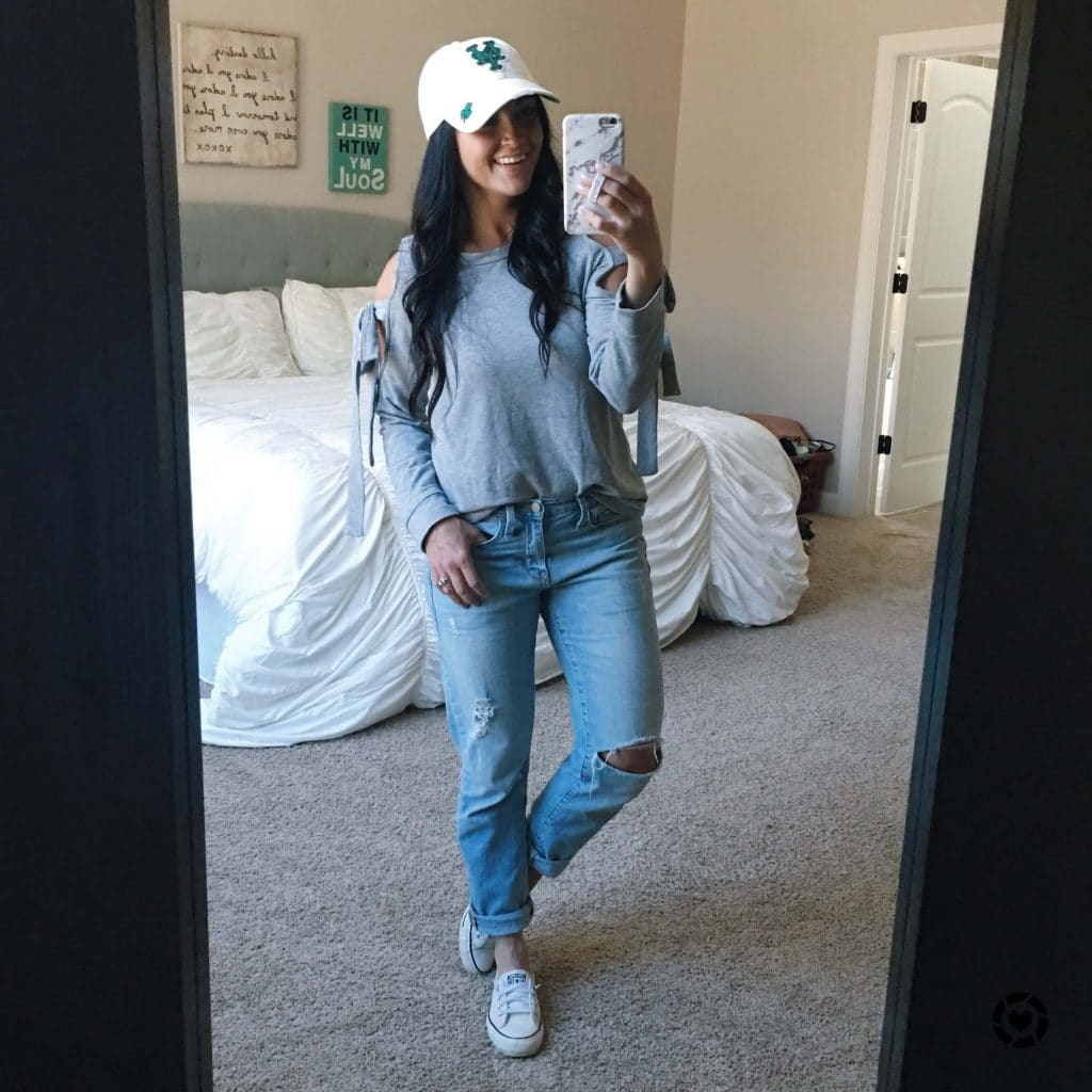 Spring Essentials, Boyfriend Denim, Stilettos and Diapers