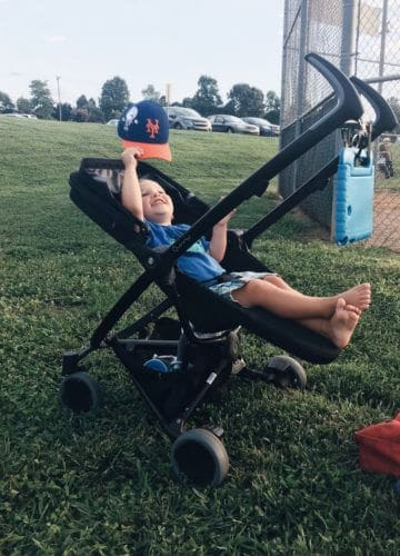 Tips for toddlers at the ball field