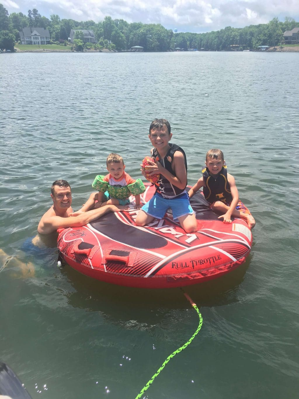 Lake Norman, Brothers, Boat Day, Stilettos and Diapers, Molly Wey