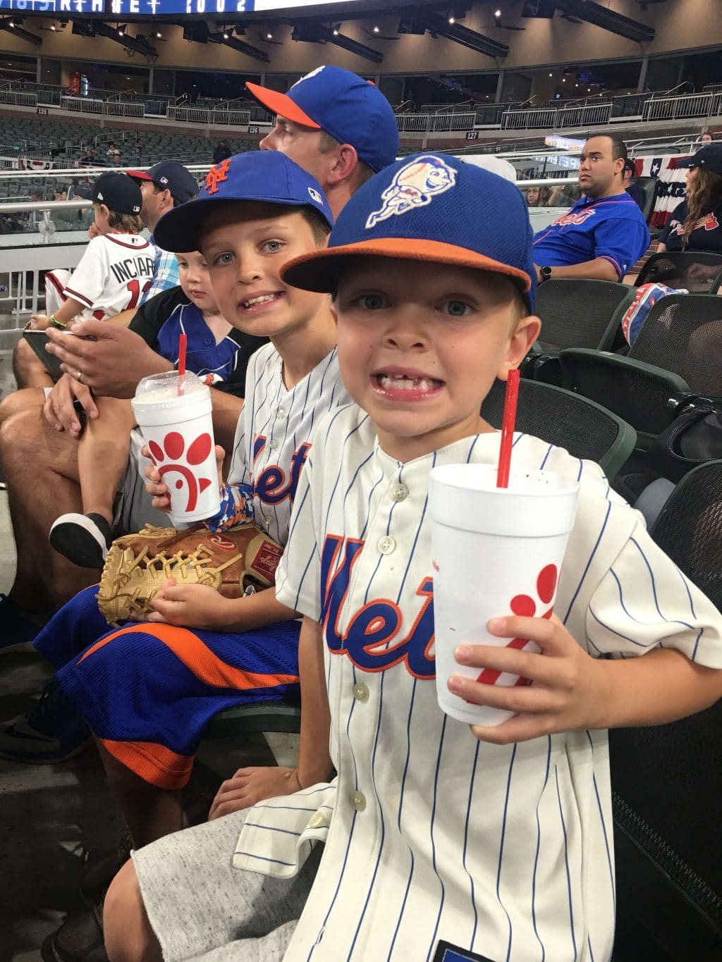 Atlanta Braves, New York Mets, Stilettos and Diapers, Cooper Wey, Callan Wey