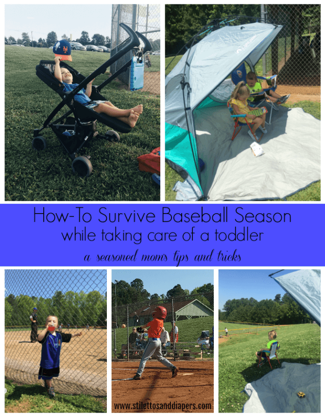 Tips on surviving baseball season with a toddler