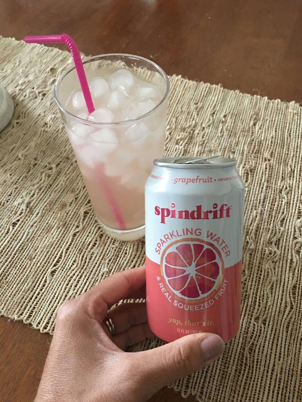Spindrift seltzer, Water drinking challenge