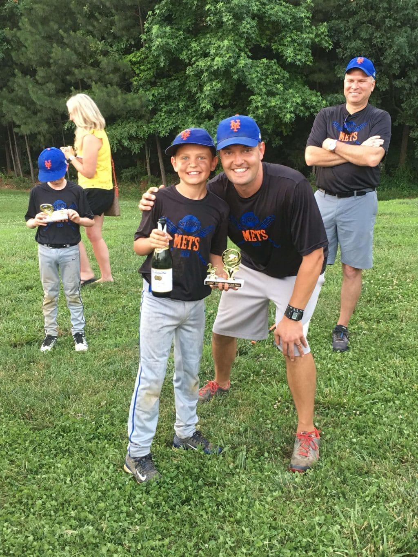 Cooper Wey, New York Mets, Stilettos and Diapers