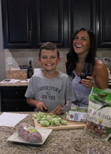 Kids in the kitchen, teach kids to cook, kid meal planning