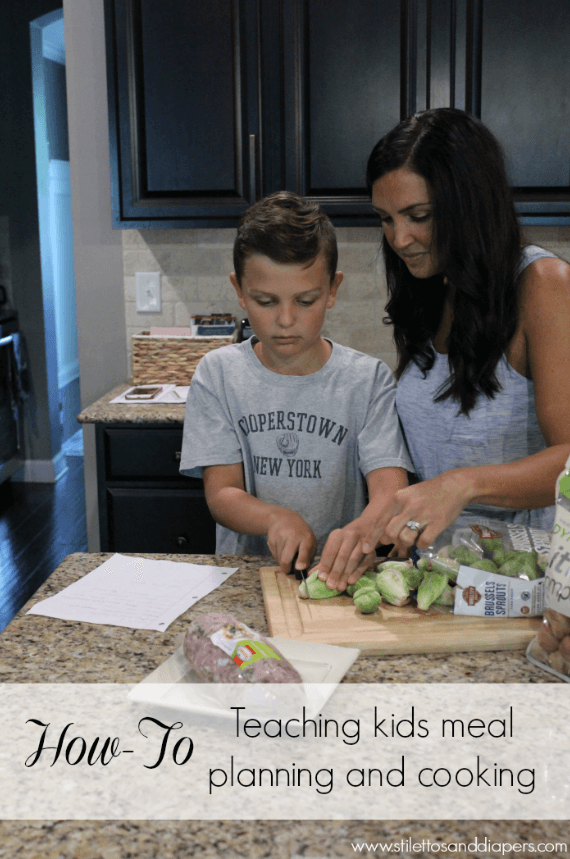 How to teach kids about meal planning and cooking, summer responsibility