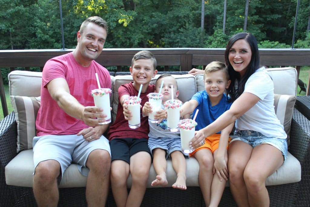 Family Summer Fun, Froot Loop Milkshakes, Stilettos and Diapers