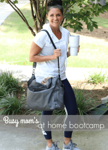 Busy Mom At Home Bootcamp, Stilettos and Diapers
