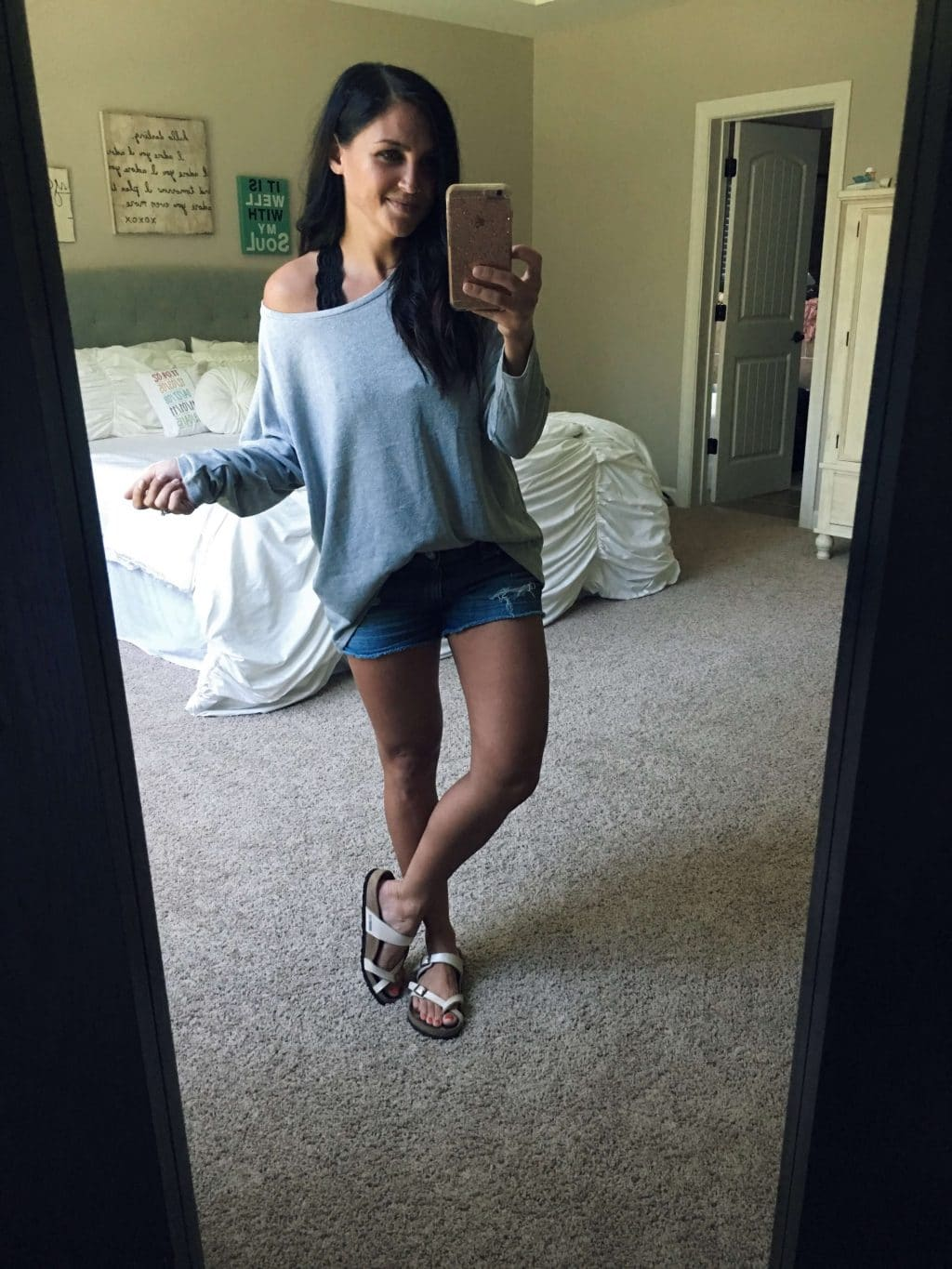 Fall transition style, Cozy pullover, bralette, athleisure, stilettos and diapers, amazon haul, molly wey