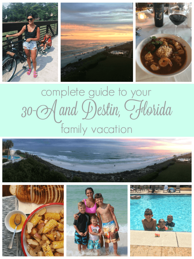 30A vacation favorites, 30A and Destin, Florida family travel guide, Stilettos and Diapers