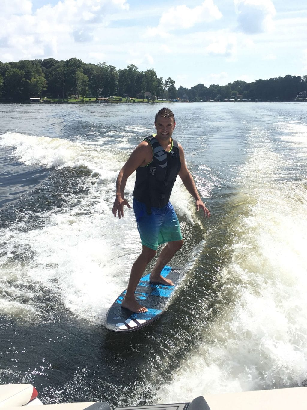 Stilettos and Diapers, Wake Surf, Lake Effects Boat Club