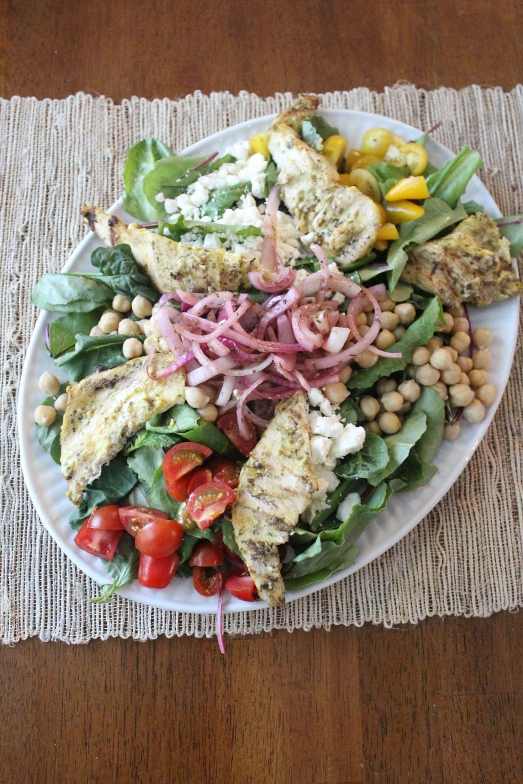 Easy Dinner, Salad Platter, Whole30 weeknight meal, Stilettos and Diapers