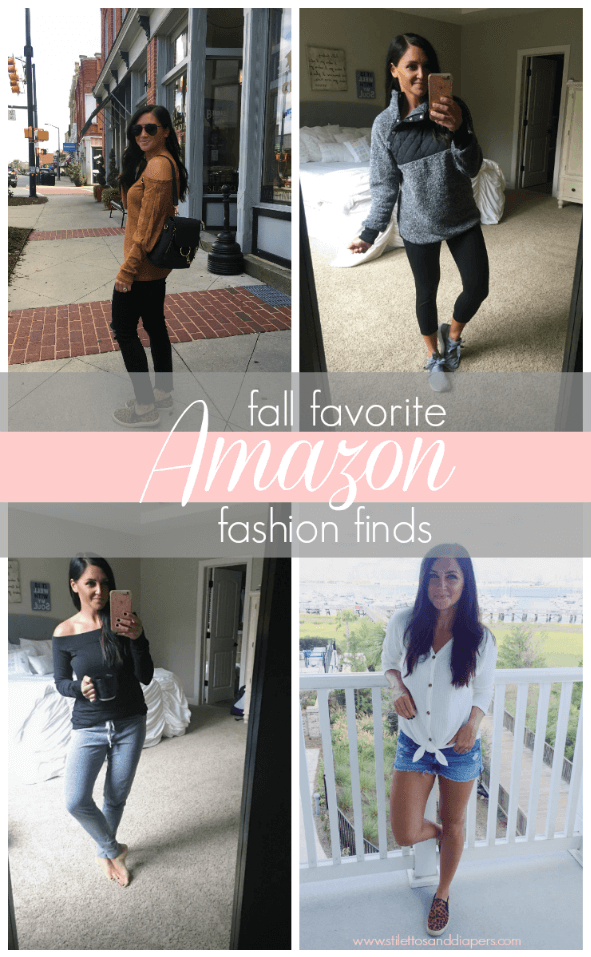 Amazon Fashion Finds, Fall Style, Stilettos and Diapers