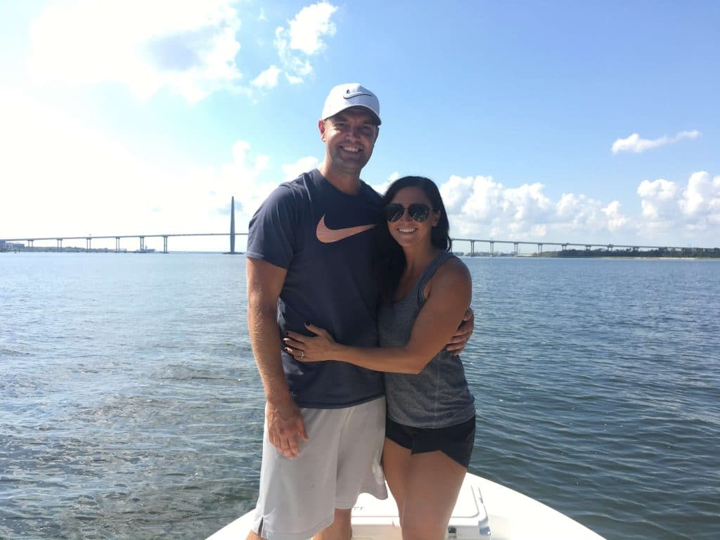 Fishing Cooper River Bridge, What to do in Charleston