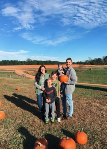 Patterson Farms, Pumpkin Patch, Boy Mom, Stilettos and Diapers