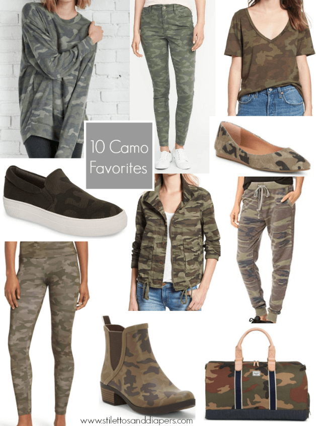 Camo favorites, best camo pieces, Stilettos and Diapers, Camo Craze