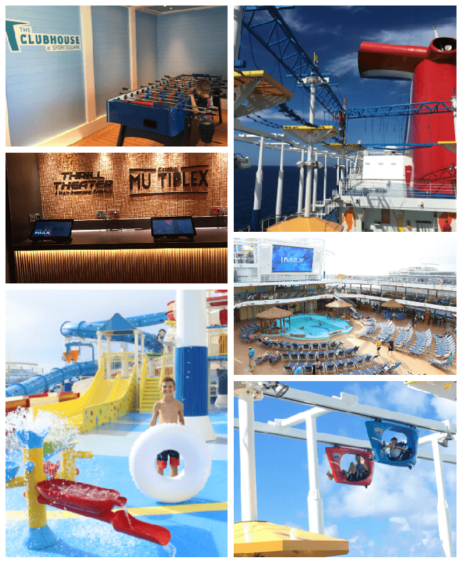 Carnival Horizon Review, Stilettos and Diapers, Cooper Wey, Callan Wey, Lincoln Wey